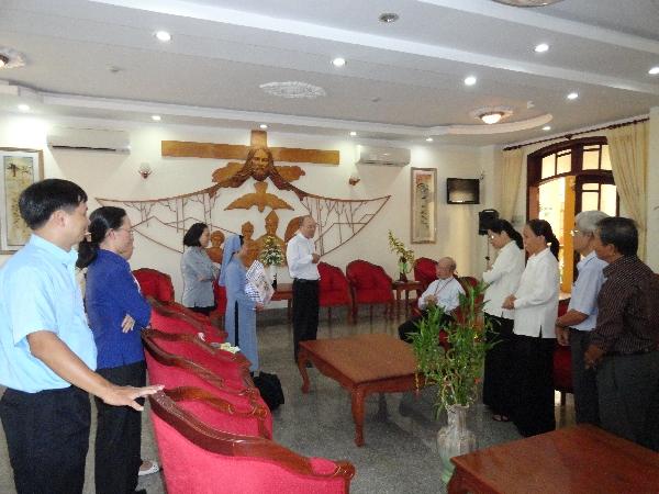 Chúc mừng Bổn Mạng Đức Cha Đaminh Nguyễn Chu Trinh - Chủ tịch Uỷ ban Bác ái Xã hội - Caritas Việt Nam