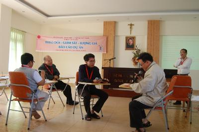 The last course in the 3 year - training program for diocesan Caritas of Southern Vietnam