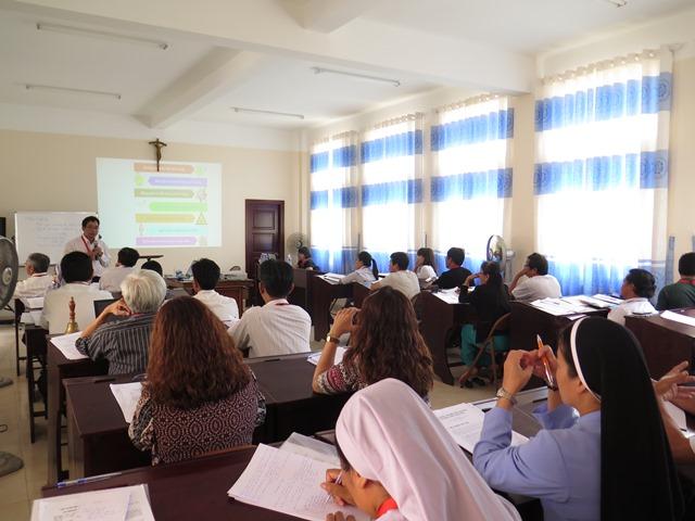 Caritas Việt Nam: Tập huấn về Biến đổi khí hậu tại Ban Mê Thuột