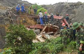 Bác Ái - Hiệp Thông vụ sạt lở tại mỏ than Phấn Mễ, Đại Từ, Thái Nguyên