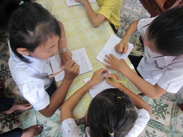 Caritas Phan Thiết: họp mặt nhóm Học bổng Nắng Mới
